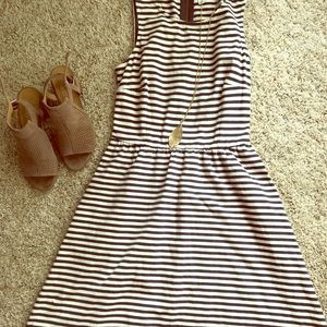 Fabulous in stripes dress